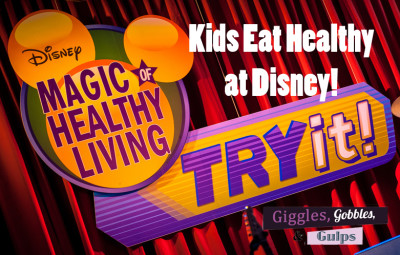 Kids Eat Healthy at Disney with the Magic of Healthy Living & the Mickey Check