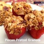 Granola with Pretzels and Pecans