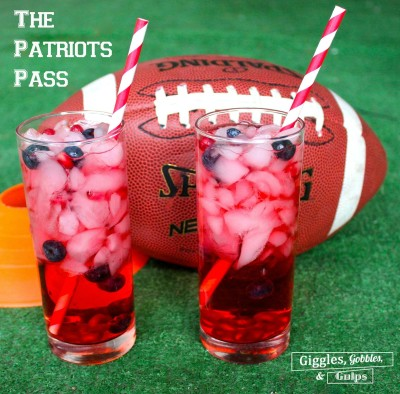 "The Patriots Pass – ""Big Game"" Cocktail"