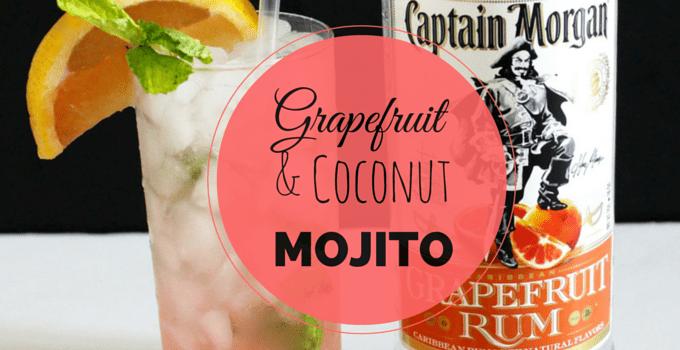 Grapefruit Coconut Mojito