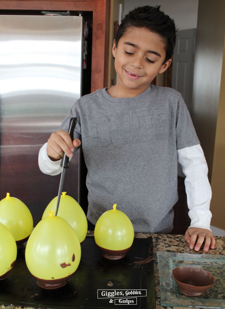 Balloon Chocolate Bowls 7
