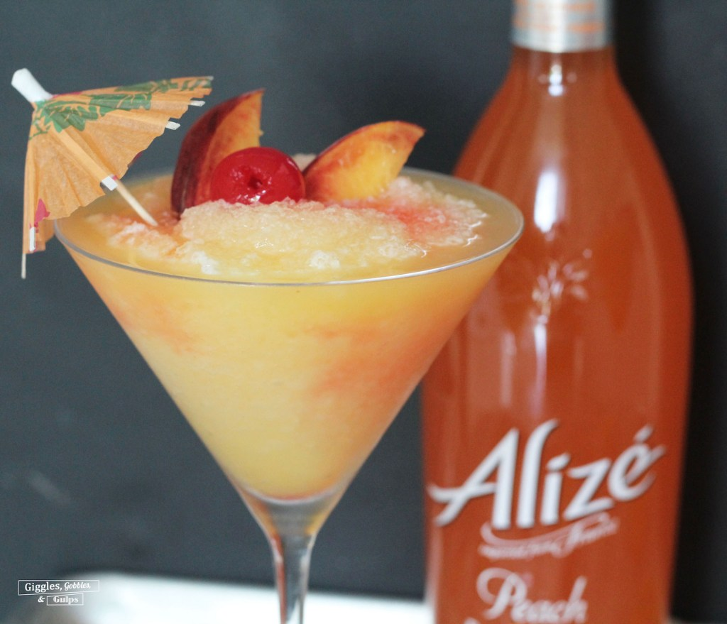 Alizé Peach Cocktail