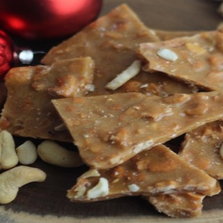 easy cashew brittle