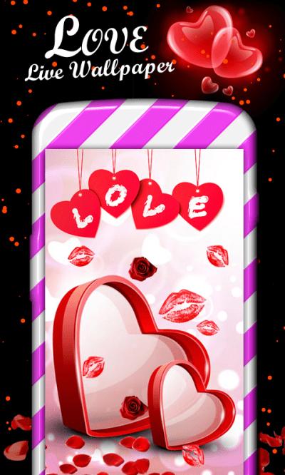 Love Live Wallpaper | Love Heart Live Wallpaper | Love Wallpapers | gigomultimedia