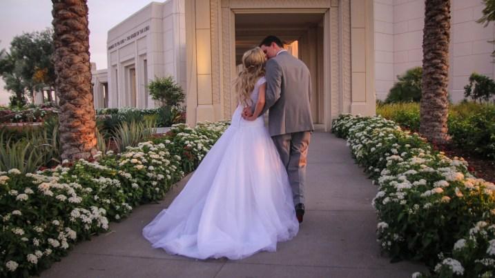Gilbert AZ Temple Wedding