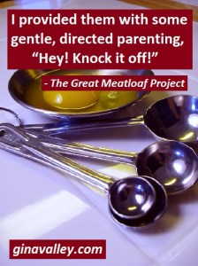 Humor Funny Humorous Family Life Love Laugh Laughter Parenting Mom Moms Dad Dads Parenting Child Kid Kids Children Son Sons Daughter Daughters Brother Brothers Sister Sisters Grandparent Grandma Grandpa Grandparents Grandfather Grandmother Parenting Gina Valley The Great Meatloaf Project