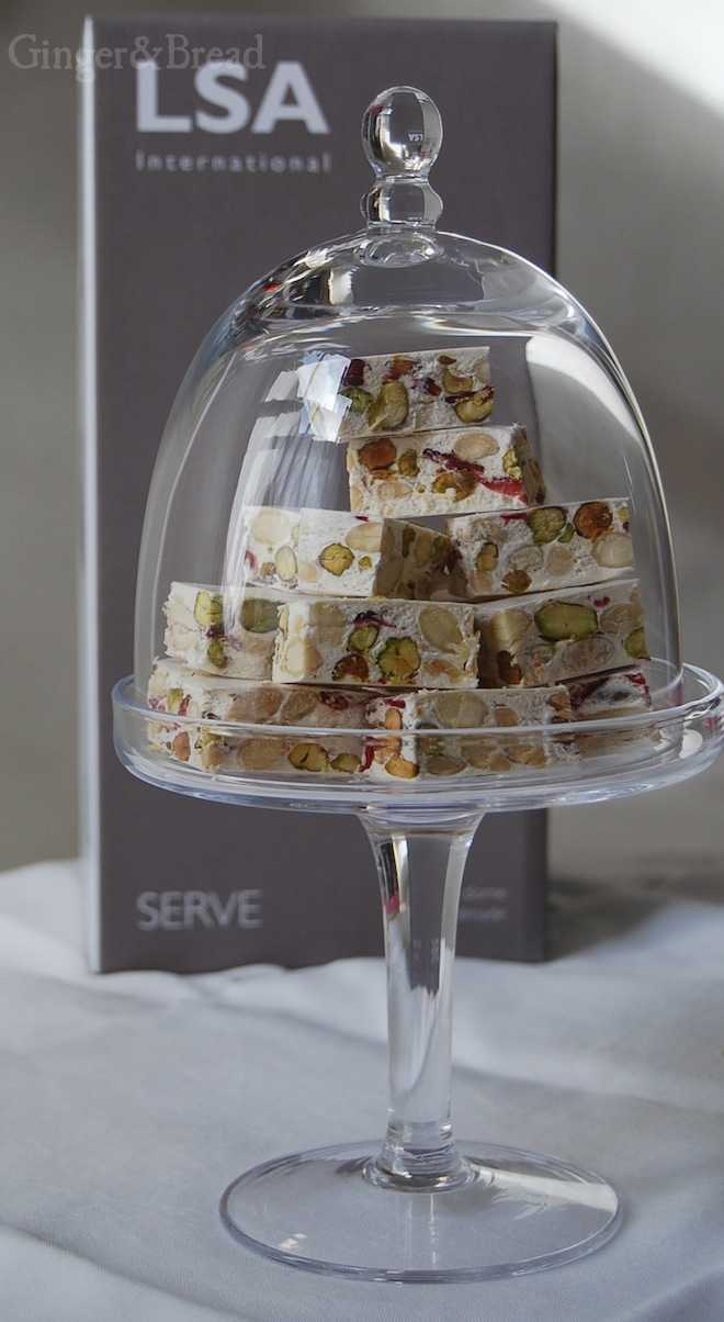 LSA cake stand and dome 15cm