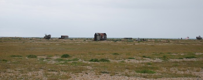 The landscape in Dungeness