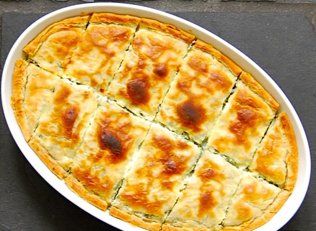 Zeljanica, Bosnian spinach and feta pie