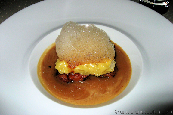 snow crab cannellone @ Vu's, Jumeirah Emirates Towers