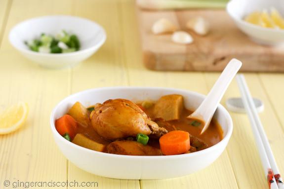 Vietnamese Curry Soup