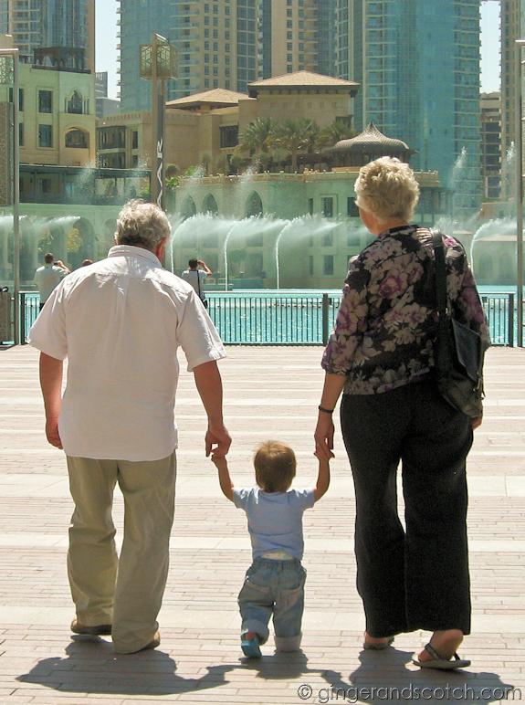 Fountains at Dubai Mall