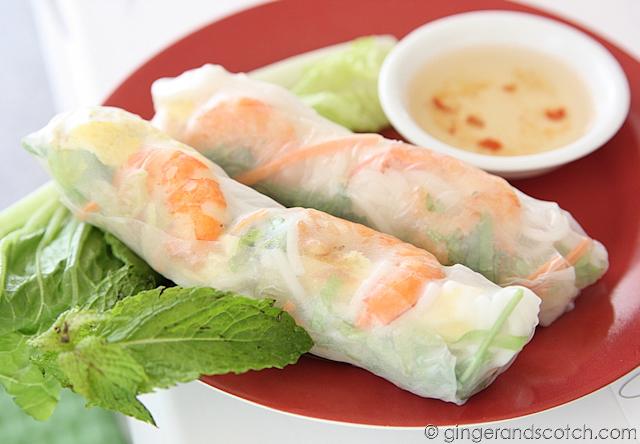 Goi Cuon - fresh summer rolls