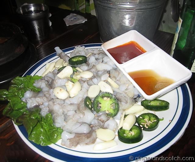 Live Octopus - Sik Gaek Restaurant