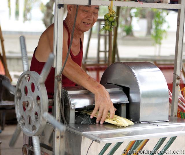 Sugar Cane Juice in Vietnam