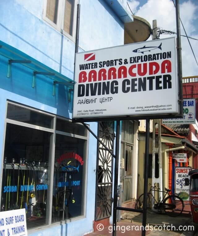 Sri Lanka - Barracuda Diving Center