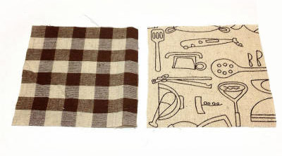 コースターの布