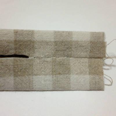 コの字縫いの方法