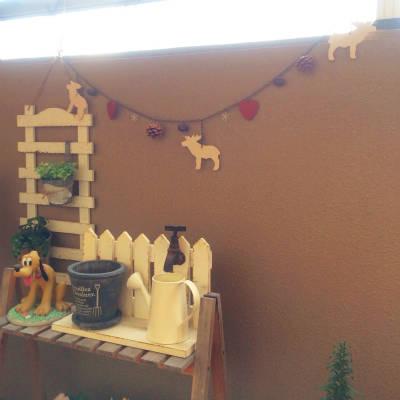 クリスマス飾りディスプレイ