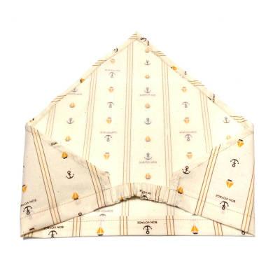 ゴム付き三角巾