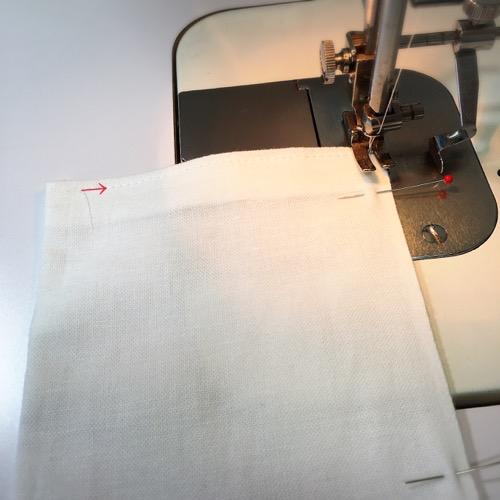 端から縫う