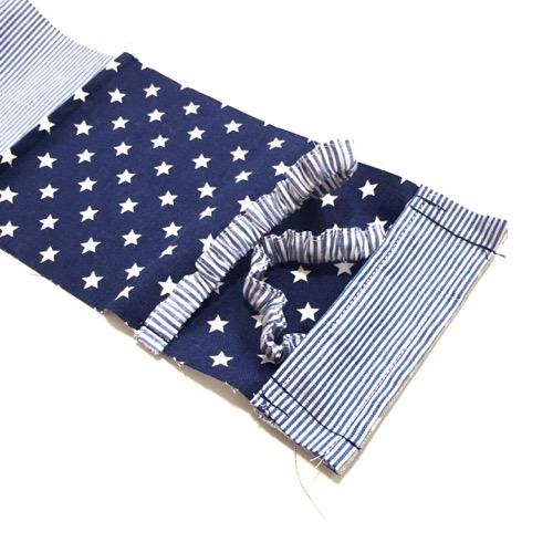 縫い代を縫う