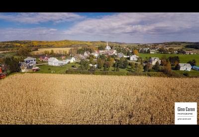 L'automne sur le village