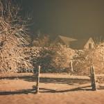 Un peu de neige