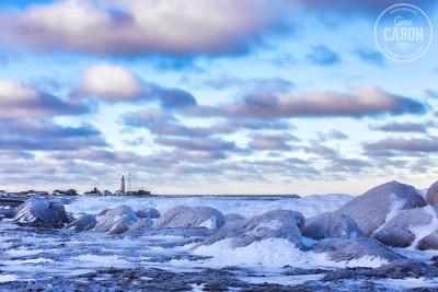 Pointe-au-Père et glace