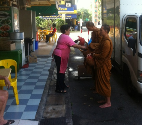 Monks from Simpang Bedok Temple (5/6)