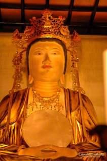 kita kannon yama sacred statue gion festival kyoto japan