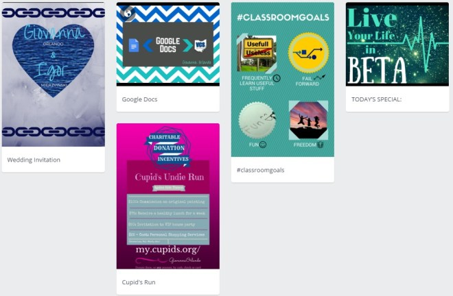 My Canva Designs