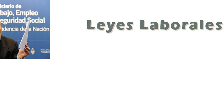 categoria Leyes Laborales Decretos Tomada