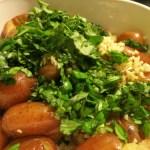 Make This: Garlic Basil Smashed Potatoes