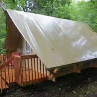 Camping at Bon Echo Provincial Park