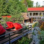 Relax at the Scandinave Spa Mont-Tremblant