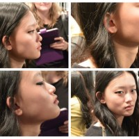 Backstage with Maybelline for Mackage at WMCFW