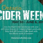 Ontario Craft Cider Week is here!