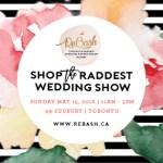 [Win it!] Tickets to ReBash Wedding Show in Toronto
