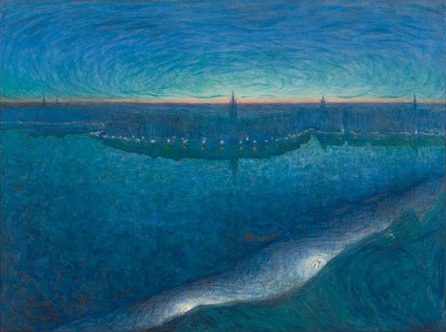 Dawn over Riddarfjarden, Eugène Jansson, 1899 Collection of Prins Eugens Waldemarsudde