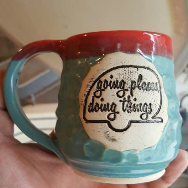 Girl Camper mug – going places
