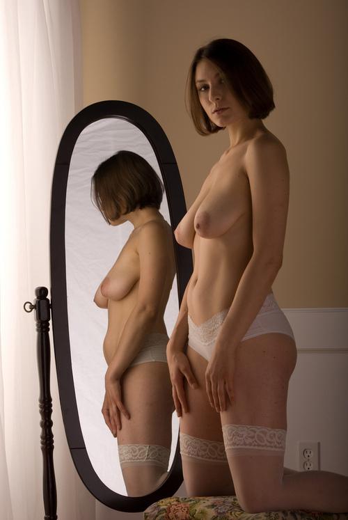 milf sheer lingerie