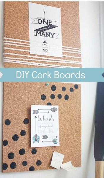 10 pretty cork board ideas girlfriends are like shoes for Pretty bulletin board