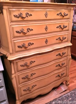 Small Of French Provincial Dresser
