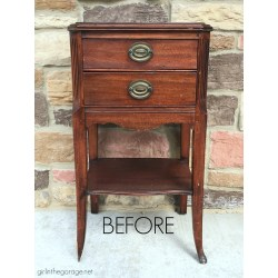 Popular Drawers Wooden End Tables End Table Makeover Diy End Table Makeover Annie Sloan Chalk Paint Decoupage Drawers Bygirl Broken Foot Girl Rustic End Tables Drawers houzz 01 End Tables With Drawers