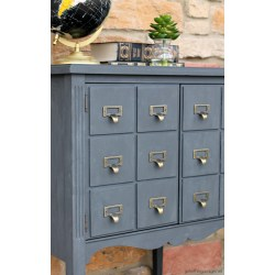 Small Crop Of Card Catalog Cabinet