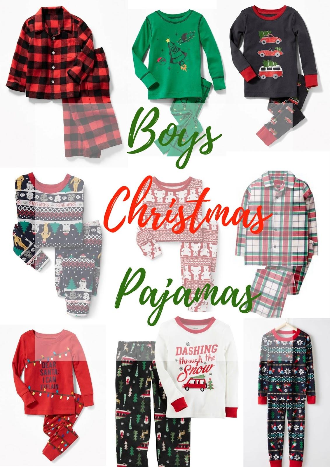 Fullsize Of Boys Christmas Pajamas
