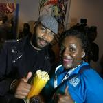 Omari Hardwick and I at ABFF 2017