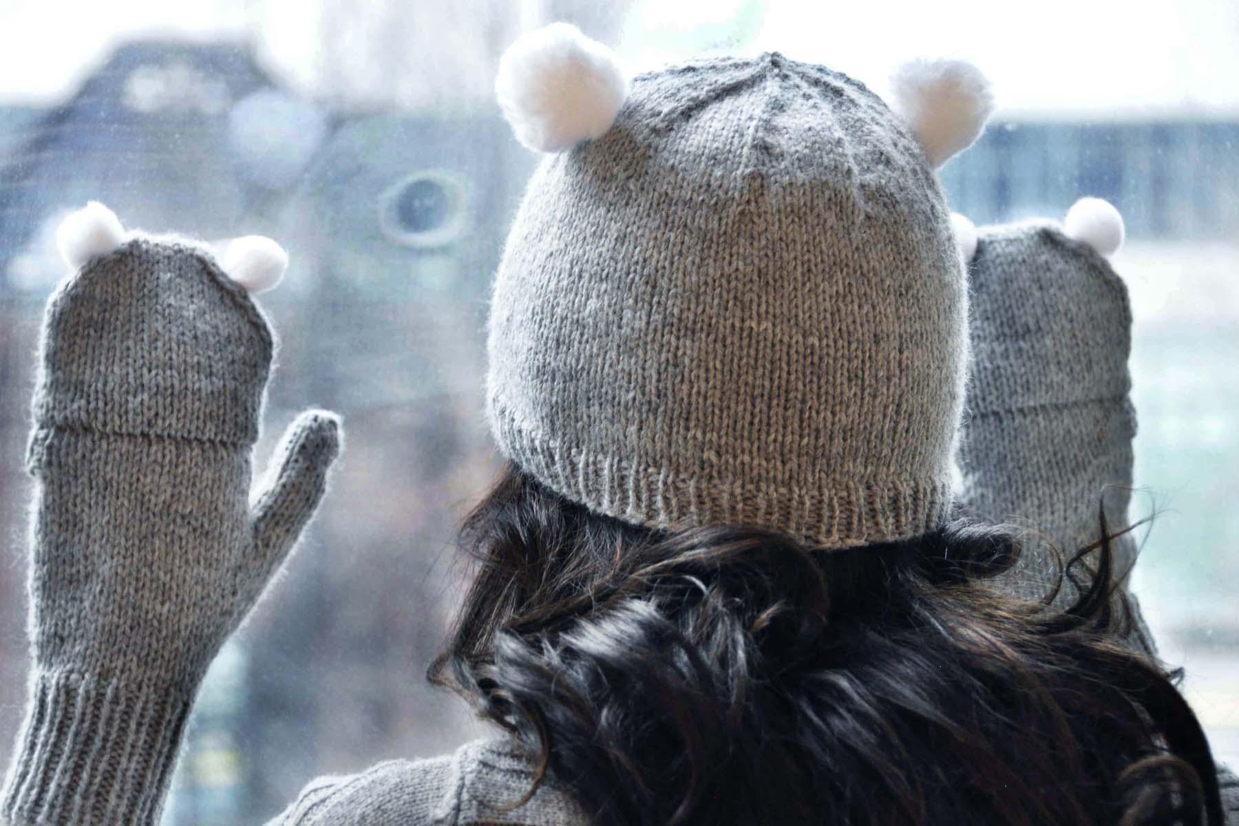 Knitting Pattern For Koala Bear Mittens : Care to Cuddle? Girly Knits