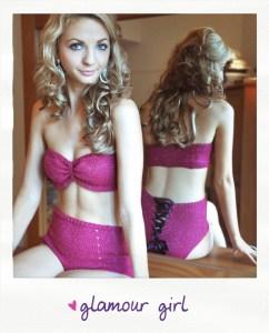 glamour girl knitted lingerie knitting pattern